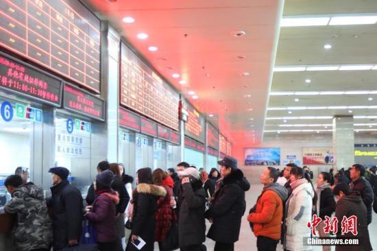 多彩贵州网 铁总 2月4日全国铁路预计发送旅客548万人次